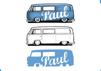 Volkswagen T2 || Illustration